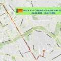 Tráfico informa de las afecciones a la circulación por la Volta Ciclista a la Comunitat este domingo.