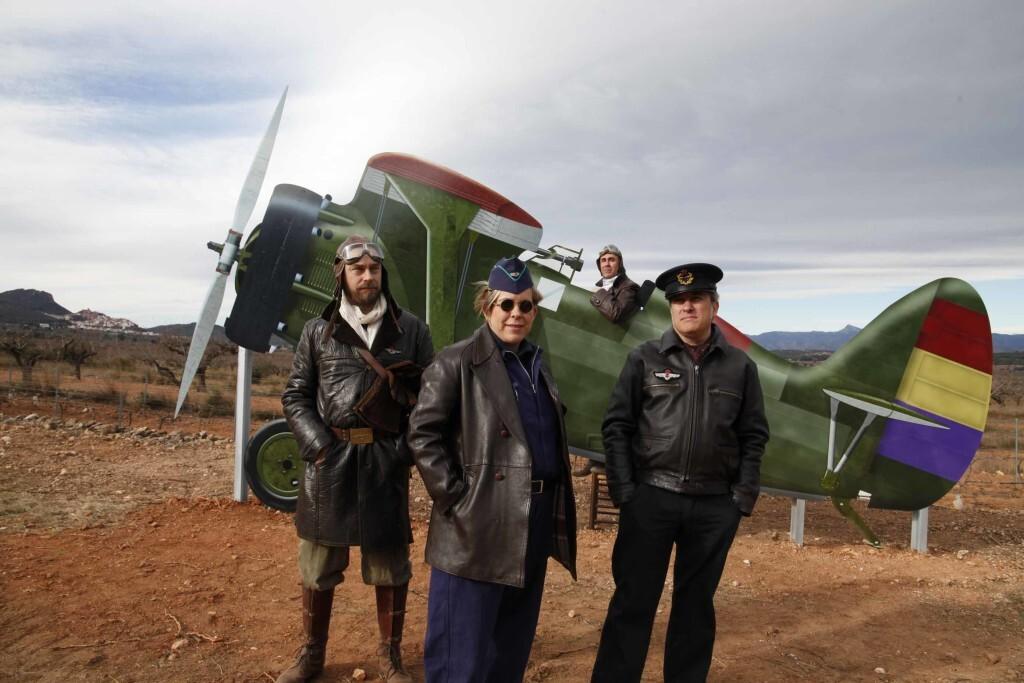 Vilafamés posa en valor l'antic camp d'aviació de la guerra civil i amplia la seua oferta turística (2)