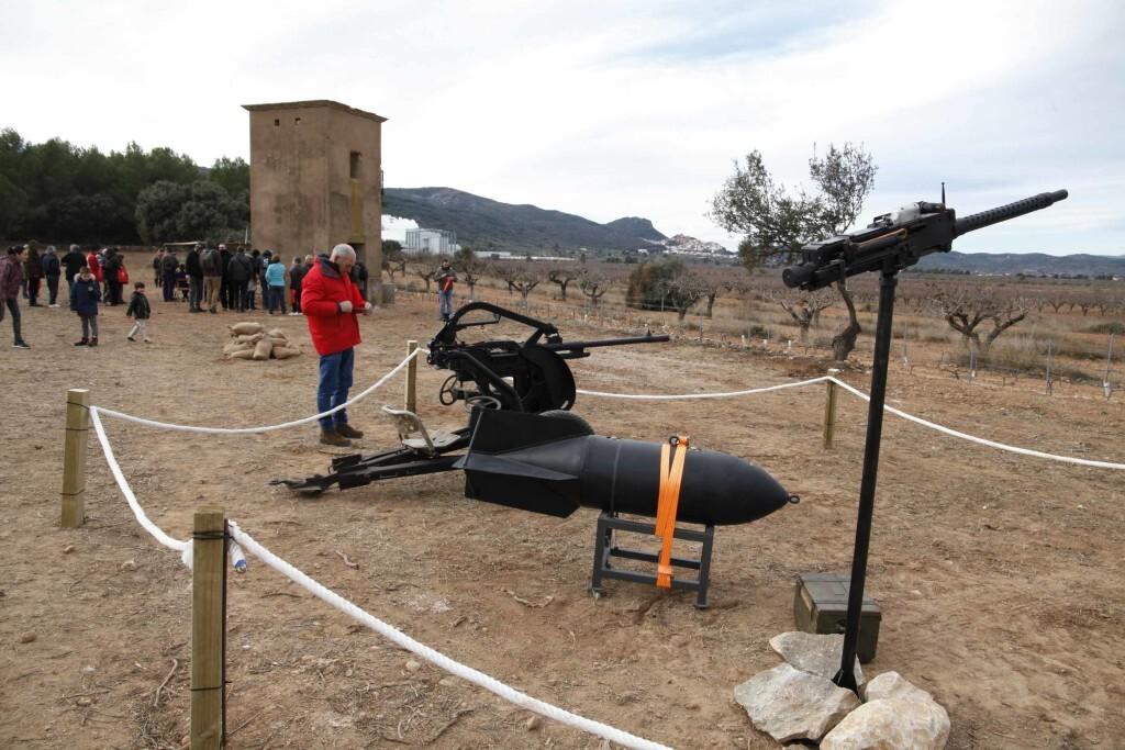 Vilafamés posa en valor l'antic camp d'aviació de la guerra civil i amplia la seua oferta turística (3)
