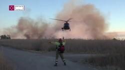Controlado el incendio forestal del Prat de Cabanes en Torreblanca