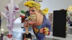 Exposición del Ninot 2018 vídeos de la sección infantil