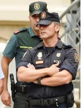 guardia civil policia nacional