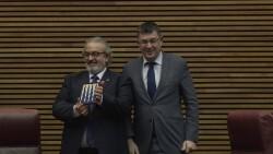 Les Corts Valencianes reciben a la FSMCV con motivo del 50º aniversario de la entidad