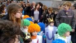 Los colegios valencianos celebran su día grande de fallas