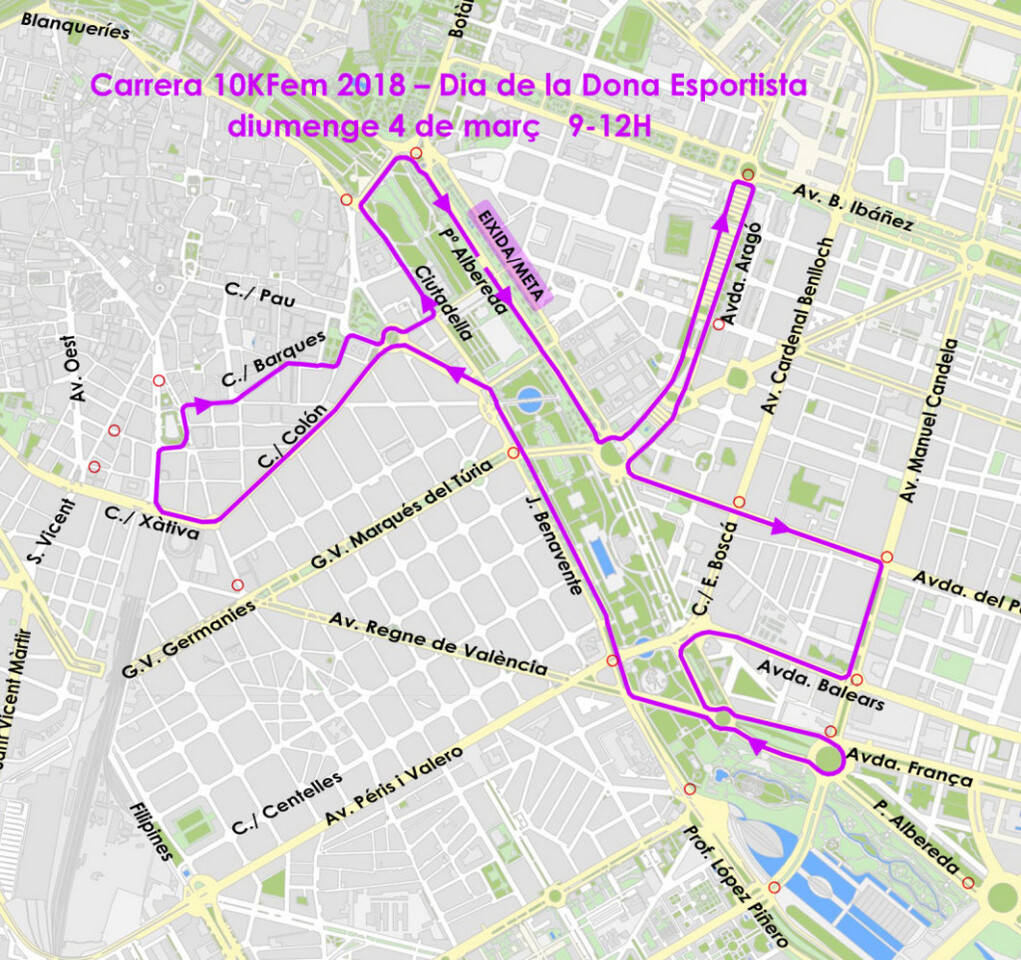 0302 5ª Carrera 10KFem - Día de la Mujer Deportista