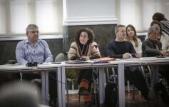 José Cuéllar 27/3/2018 Valencia, Comunitat Valenciana. La regidora de Govern Obert i Transparència, Neus Fábregas, presenta en roda de premsa el Portal de Transparència del Sector Públic