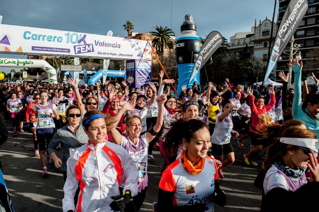 Carrera 10K Fem , Carrera de la Mujer