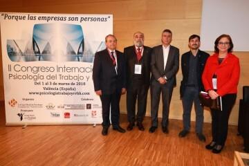 Acto Inaugural Congreso Internacional de Psicología del Trabajo y RRHH II