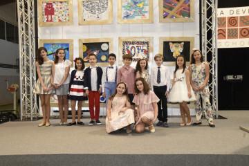 Alumnos de La Devesa School Carlet, presentadores de los siete desfiles II Devesa Fashion Kids
