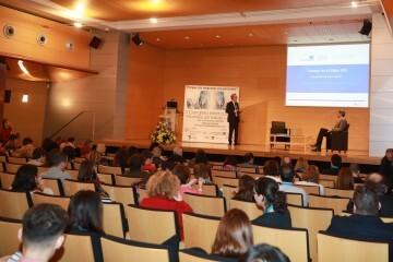 El Director de Eurofound durante su conferencia II