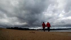 El temporal Félix se intensifica y promete un fin de semana pasado por agua, ventoso y con fuerte oleaje