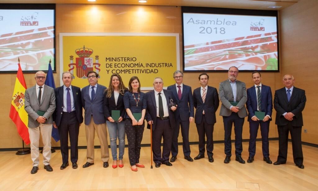 FotoFamiliaPremios ANICE 2018 Premiados y Comite Ejecutivo(2.03.18)