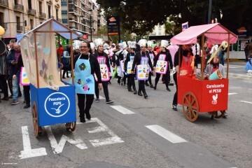 Imágenes de la Cavalcada, Cabalgata del Ninot de Valencia_2018 (16)