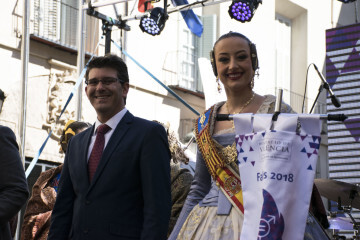 La Diputació de València celebra su tradicional recepción fallera (1)
