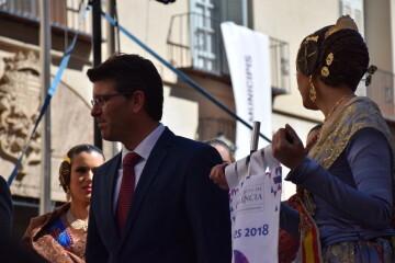 La Diputació de València celebra su tradicional recepción fallera (14)