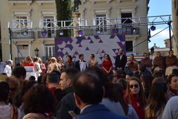 La Diputació de València celebra su tradicional recepción fallera (21)