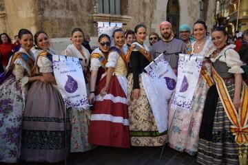 La Diputació de València celebra su tradicional recepción fallera (22)
