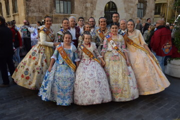 La Diputació de València celebra su tradicional recepción fallera (24)