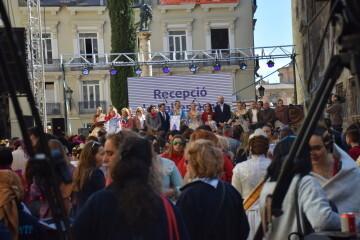 La Diputació de València celebra su tradicional recepción fallera (25)