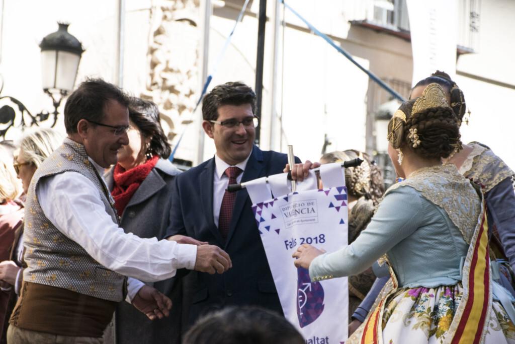 La Diputació de València celebra su tradicional recepción fallera (27)
