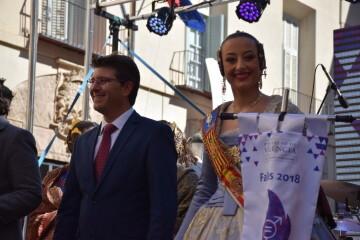 La Diputació de València celebra su tradicional recepción fallera (4)