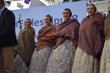 La Diputació de València celebra su tradicional recepción fallera (5)
