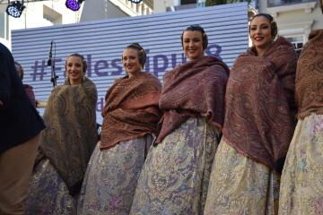 La Diputació de València celebra su tradicional recepción fallera (6)