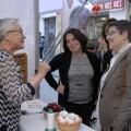 La Diputación participa en la gran fiesta de la pilota femenina en el trinquet de Pelayo.