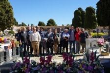 La Diputación se suma a los actos por el día de las víctimas del franquismo en el cementerio de Paterna.