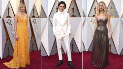 Los looks de la alfombra roja de los Premios Oscar 2018 Infobae