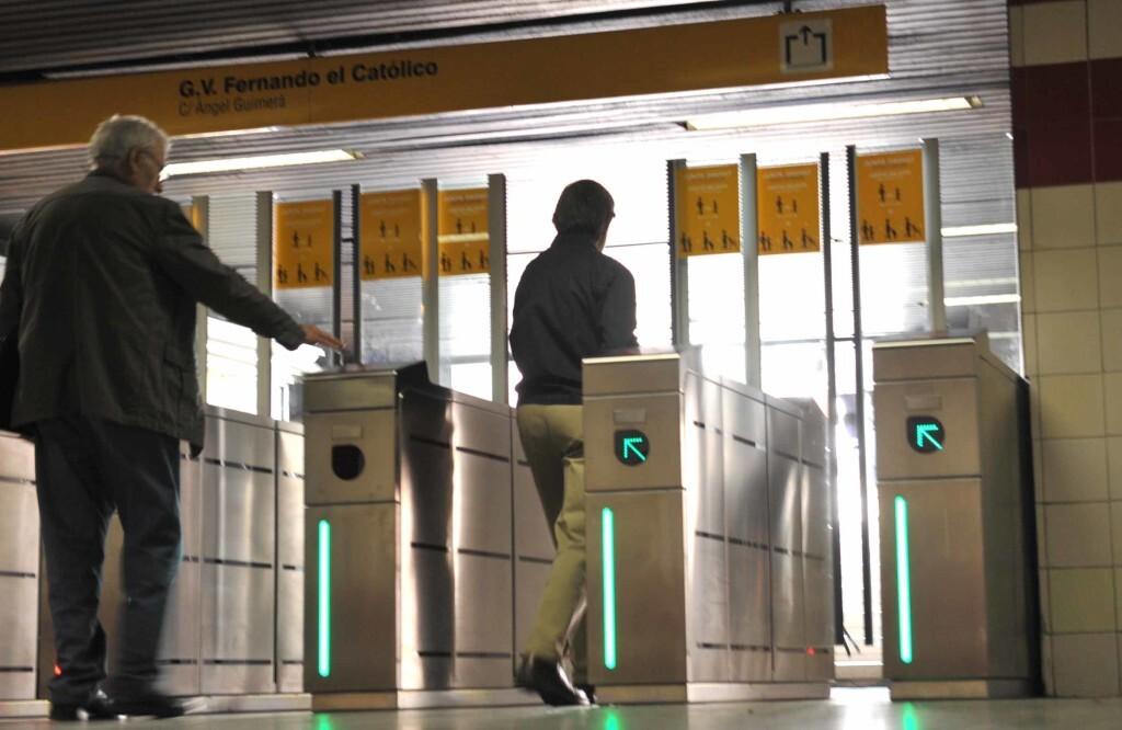 Metrovalencia modifica sus tarifas a partir del 1 de abril con la finalidad de potenciar el uso de la tarjeta TuiN