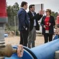 Miramar renueva la red de agua potable en la zona de la playa con ayuda de la Diputación.