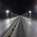 Nueva iluminación LED que sustituye a la actual en el túnel de Peset Aleixandre.