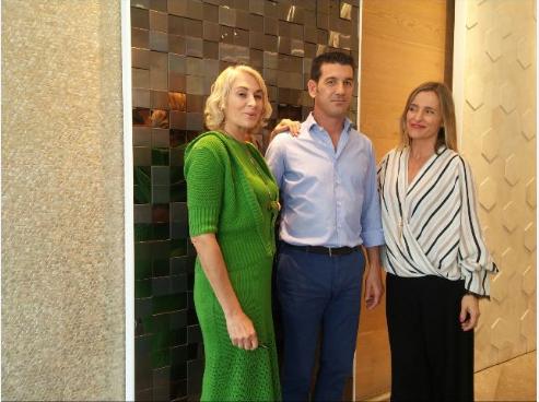 Sandra Figuerola, Jose Mª Colonques, Zdenka Lara