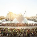 Valencia prepara sus calles para un sábado de atletismo con el Mundial de Medio Maratón.