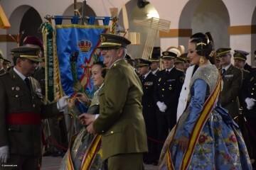 XXX edición de la Falla de las Fuerzas Armadas y Guardia Civil . (83)