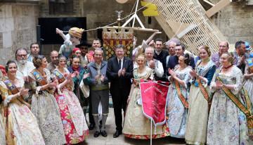 Ximo Puig entrega premio Pte a Convento Jerusalén