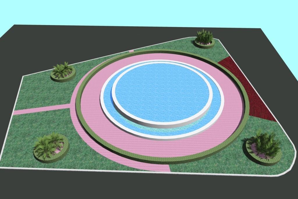 0411 Recreació jardí plaça Ajuntament