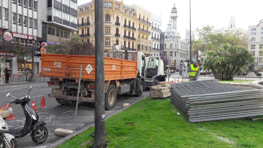 0411 Remodelació jardí plaça Ajuntament
