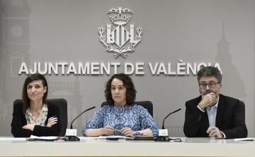 La regidora de Patrimoni i Recursos Culturals i presidenta executiva de l'Entitat Pública Empresarial Mostra de València i Iniciatives Audiovisuals, Glòria Tello,foto Jose Jordan