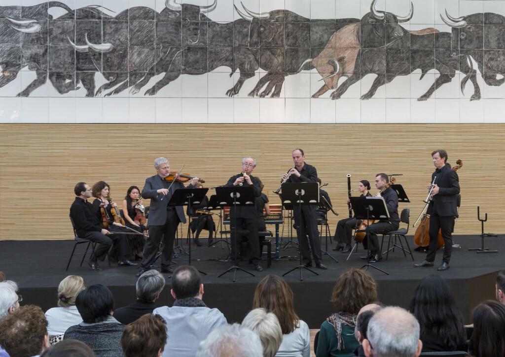 Música de cámara  Conciertos de Brandemburgo. Fabio Biondi.  Foto Miguel Lorenzo