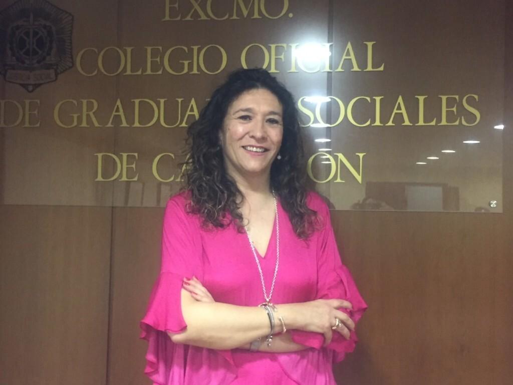 AMPARO MAÑEZ PRESIDENTA GRADUADOS SOCIALES CASTELLON