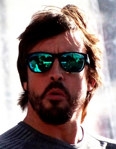 Alonso, mejor que nunca
