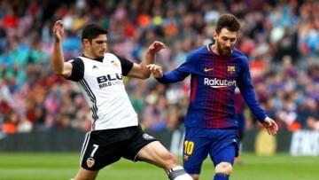 Barca Valencia Guedes - Messi