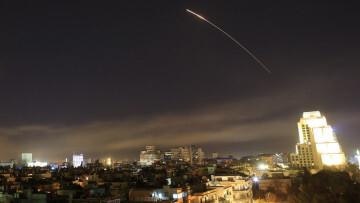 Bombardeo Aliado contra Siria