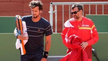 Bruguera y Feliciano Lopez Copa Davis Vlc