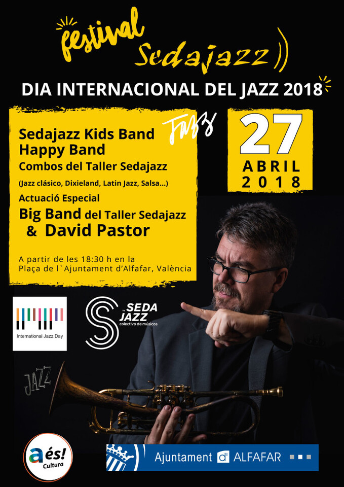 CARTEL DIA INTERNACIONAL DEL JAZZ