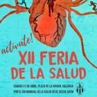 """La XII edición de la Feria de la Salud promueve la actividad física bajo el lema """"Actívate"""""""