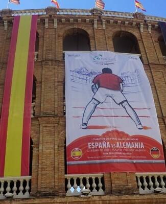 Copa Davis en la Plaza de Toros.
