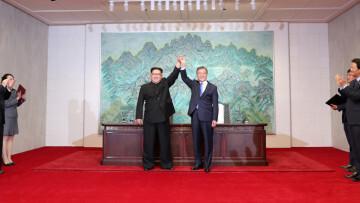 Corea firma la Paz